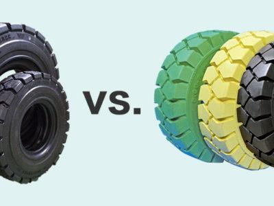 ノーパンクタイヤとエアタイヤ(チューブタイヤ)の違いとは?